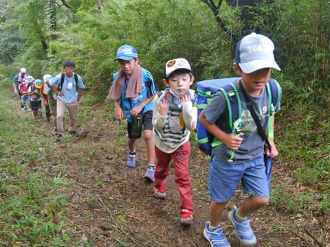 チャレンジ冒険キャンプ5DAYキャンプ